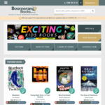 Free Shipping When Visiting from Booko @ Boomerang Books