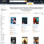 Buy One Get One Free on Select Movies and TV Series @ Amazon AU