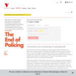 [eBook] Free - The End of Policing @ Versobooks