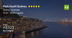 Sydney Park Hyatt, King Room $523 a Night, >50% off Depending on Night [July-Aug] @ Beat That Flight