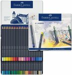 Faber-Castell Goldfaber Aqua Watercolour Pencils Tin of 48 $43.48 Delivered (Was $80) @ Amazon