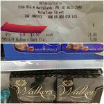 Walkers Boxed Chocolates Varieties (Milk, Dark, Mint) 120g - $1 (Was $4) at Big W