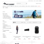 Pacsafe - Anti-Theft Packs, Bags & Luggage - 50-70% off + $10 Delivery ($0 with $100 Ex-GST Order) @ Sea to Summit