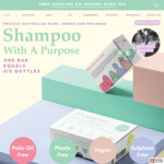 [UNiDAYS] Purchase 2 or More 'Shampoo with A Purpose Bars' to Get 20% (Free Shipping over $50) @ Shampoo with a Purpose