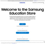 Samsung Galaxy Tab A7 10.4 32GB WiFi $303.20 + Bonus Book Cover @ Samsung Education Portal