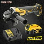 DeWalt 18V Brushless 1x 5.0Ah 125mm Angle Grinder Kit $249 @ Total Tools Free Delivery (Also at Other Retailers)