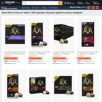 L'Or Coffee Pods 100pk $29.95 / $26.96 (Sub & Save), 200pk $50.40 (Sub & Save) + Delivery ($0 with Prime/$39 Spend) @ Amazon AU