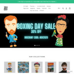 30% off Sitewide on Art (and Science) History Themed Stuff Figurines, Games, Toys, Apparel @ Today Is Art Day