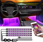 CTFIVING Car Interior Lights with App Control $22 + Delivery ($0 with Prime/ $39 Spend) @ HH-Electronics Amazon AU