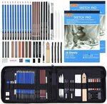 52 Pack Sketch Pencil Set $23.99 (Orig. $45.99) + Delivery ($0 with Prime/ $39 Spend) @ Shuttle Art via Amazon AU