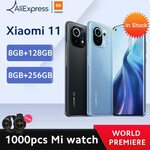 Xiaomi Mi 11 (Global Version) 8GB, 128GB, US$761 (A$994.68) Priority Shipped DHL @ Xiaomi Mi Store AliExpress