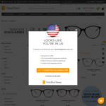 SmartBuy Collection Eyeglasses from $16 + $6.99 Delivery (Free over $99 Spend) & 30% off Coupon @ VisionDirect