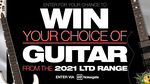 Win a 2021 LTD Range ESP Guitar of Choice from Noisegate