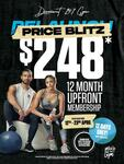 [VIC, SA, QLD] 12-Month Upfront Gym Membership $248 (Was $648) + $49 Admin Fee (New & Expired Members Only) @ Derrimut 24:7 Gym