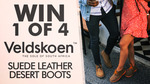 Win 1 of 4 Pairs of Veldskoen Desert Boots Worth $179 from Seven Network