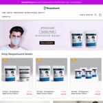 Australian Made P2 Respirator Masks 60 Pack $50 Delivered@ RespaGuard