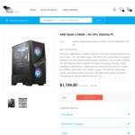 [Backorder] AMD Zen 3 No GPU Desktop PCs: Ryzen 5 5600X $999, Ryzen 7 5800X $1188, Ryzen 9 5900X $1528 + Delivery @ TechFast