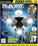 Tri-Burst LED Light $19.95, UV-ZONE Phone Sanitizer $19.95 Delivered @ Australia Post