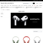 Apple AirPods Max $764 Delivered (Officeworks Price Beat $725.80) @ David Jones