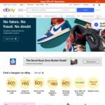 $5 off Voucher with $5.01 Minimum Spend @ eBay