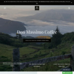 15% off Storewide + Free Shipping @ Don Massimo Coffee