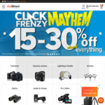 Click Frenzy: 15-30% off Almost Everything (Exclusion Applies) @ digiDIRECT