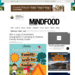 Win 1 of 6 Australian Geographic Camping & Outdoor Family Activity Guides Worth $39.99 from MiNDFOOD