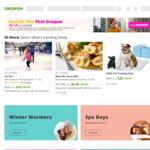15% Upsized Cashback (Cashrewards) and up to 30% off Sitewide @ Groupon
