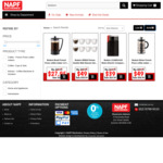Bodum Brazil French Press 1L $27.95, Bodum Bistro Electric Coffee Grinder $39 Delivered & More @ NAPF Electronics