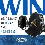 Win a Arai Helmet Bag Worth $89 from Arai Australia