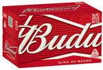 [eBay Plus] Budweiser Beer 24 x 330mL Bottles $34.99 Delivered @ CUB eBay