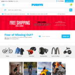 Free Shipping (Min $30 Spend, Excludes Large/Oversized Items) @ Pushys