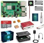 Raspberry Pi 4 4GB RAM Board + SanDisk 64GB Micro SD Card US$79.20 (~A$111.34) Delivered @ Labists