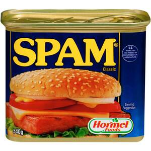 Spam Ham $3.30 (Save $2.20) @ Woolworths