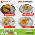 [NSW, VIC, QLD] 30% off 4 Soups + 4 Meal Snacks (Pies, Filo, Quiche) Meal Bundles over $99 & Free Shipping @ Cooked Up