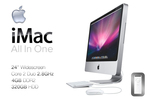 Ex-Lease Apple iMac A1225 All-in-One Desktop PC with Keyboard and Mouse $780 + Delivery