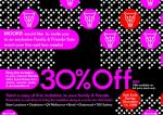 30% of rrp @ MOOKS Stores