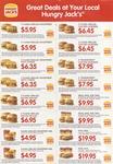 Hungry Jacks Burger Vouchers EXP: 31-1-13