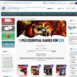 2 PS3 Essential Games for $33 (32 Amazing Titles to Choose from) God of War3, Heavy Rain, KZ3