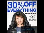 Roger David 30-35% OFF Australia-Wide One Day Only Sale! 14th OR 15th May 2009