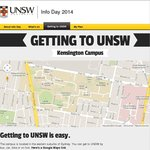 Free Buses from Central Station to UNSW for UNSW Info Day 3/1/14