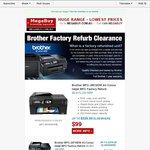 Brother Factory Refurb Printers eg: MFC-J6510DW A3 $99 at MegaBuy
