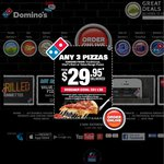 Domino's Traditional Pizzas from $4.95 Pick up