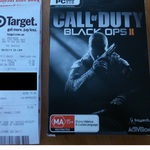 Call of Duty Black Ops 2 PC @ Target $15 in Store Only