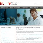 Free Short Course: Program Management Professional