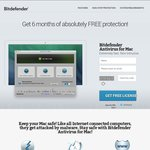 Bitdefender Antivirus for Mac (6 Months) & Internet Security (6 Months)