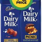 HALF PRICE Cadbury Dairy Milk Block 210-220g or Old Gold 220g $2.49 @Woolworths. Starts Wed