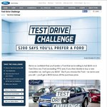 Ford $200 Test Drive Challenge - Get $200 if You Test Drive a Ford but Buy Other New Car