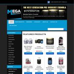 Megaceuticals Bodybuilding Supplements - 48 Hours Free Shipping Special