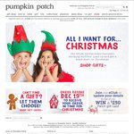Pumpkin Patch 50% off Everything (RRP) + Free Delivery